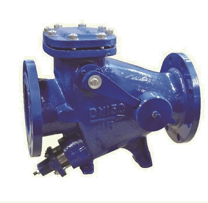 Клапан обратный фланцевый медленного закрытия серия НН44